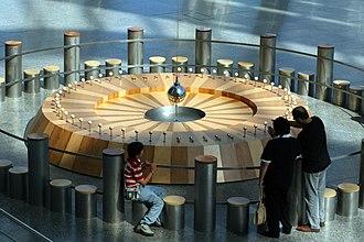 Museu de les Ciències Príncipe Felipe - Foucault's Pendulum in the museum.