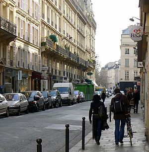 Rue Bonaparte - Rue Bonaparte - looking towards the place Saint-Sulpice.