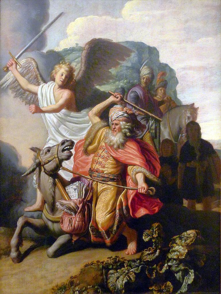 발람과 당나귀 (렘브란트, 1626년)