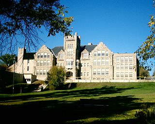 Port Arthur Collegiate Institute school building in Thunder Bay, Ontario