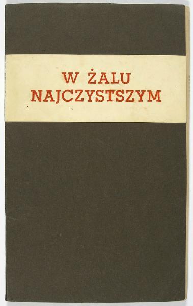 File:PL Krzysztof Kamil Baczyński - W żalu najczystszym.djvu