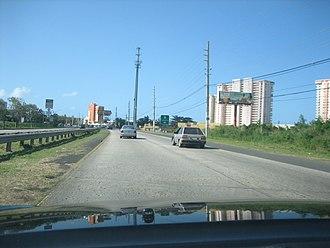 Puerto Rico Highway 3 - PR-3 in Luquillo