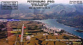 Petersburg James A. Johnson Airport airport in Alaska, United States of America