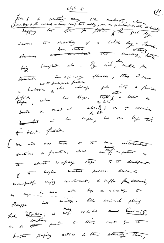 PSM V74 D412 Darwin letter to lyell.png