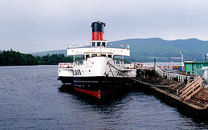 PS Maid of the Loch - PS Maid of the Loch at Balloch