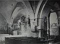 Padberg die alte Kirche, Innenansicht, Zustand aus dem Jahre 1913.JPG