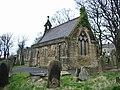 Padiham Parish Church Cemetery, Chapel - geograph.org.uk - 755030.jpg