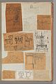 Page from a Scrapbook containing Drawings and Several Prints of Architecture, Interiors, Furniture and Other Objects MET DP372062.jpg