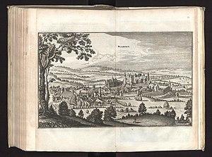 Blâmont - Image: Palatinatus Rheni (Merian) 238