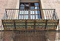 Palaus dels Eixarchs de València, balcó.JPG