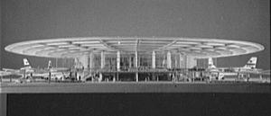 Worldport (Pan Am) - The original configuration of the Worldport