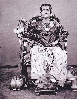 Siti Aisyah We Tenriolle - Siti Aisyah We Tenriolle around 1870. Photo by Hendrik Veen.