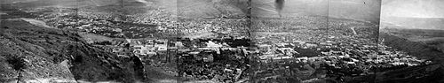 A panorama of Tbilisi in 1900s.
