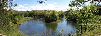 Manistee River - The Manistee River in May 2005