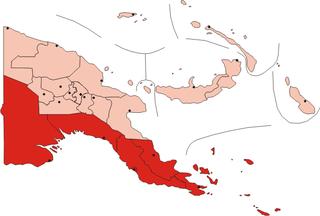 Southern Region, Papua New Guinea Region in Papua New Guinea