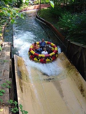 Parc Astérix - L'Oxygénarium, river rafting ride