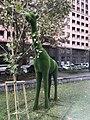 Parc Missak Manouchian, Erevan, Arménie - girafe.JPG