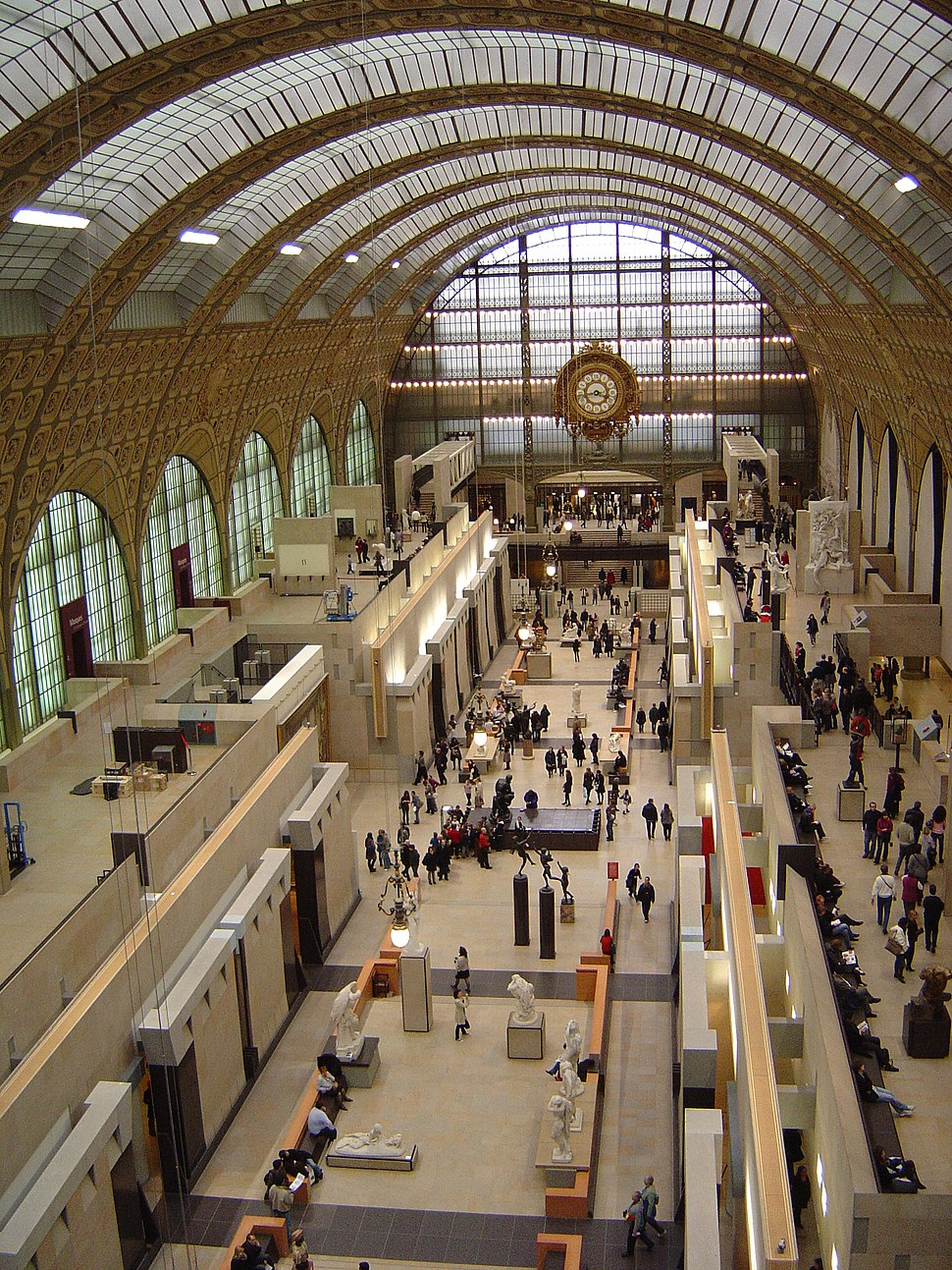Paris Musée d'Orsay Grande nef centrale 01a