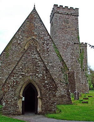 Llawhaden - Image: Parish Church, Llawhaden, west end geograph.org.uk 793651