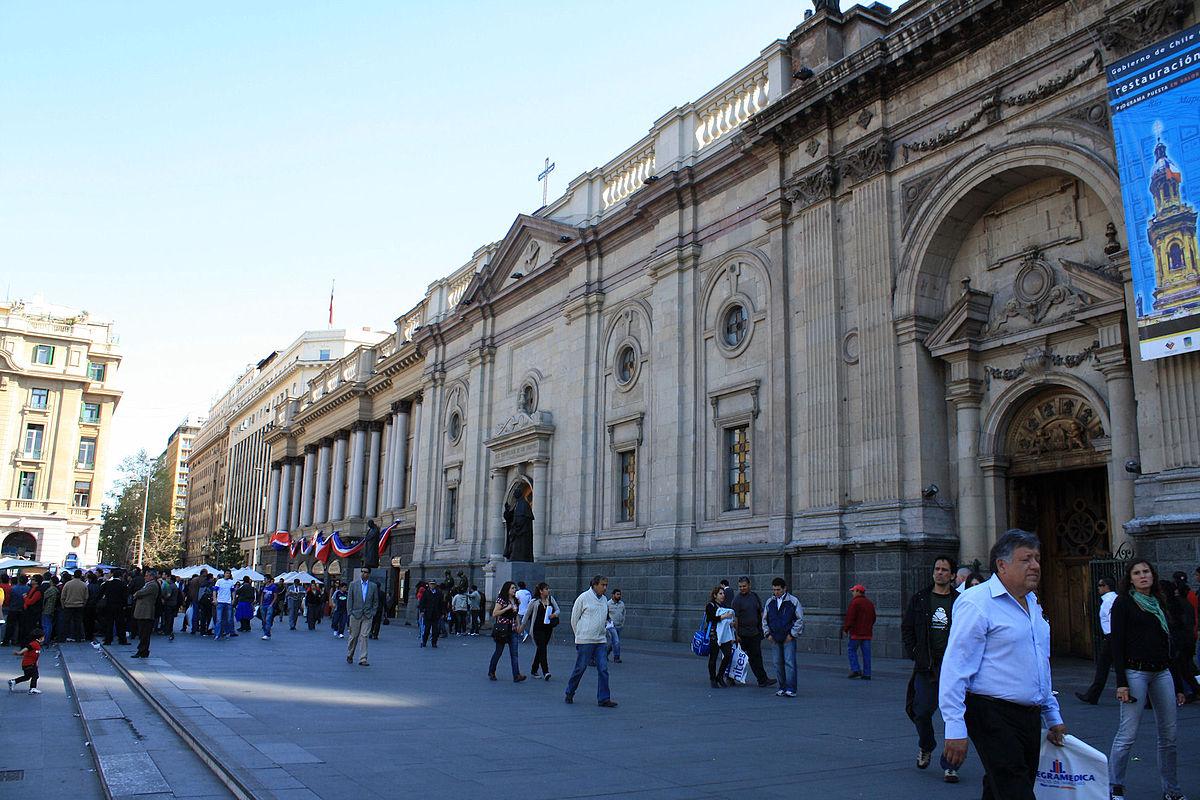 Parroquia el sagrario santiago de chile wikipedia la for Papeles murales en santiago de chile