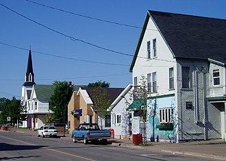 Parrsboro - Main Street Parrsboro