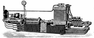 Charles Algernon Parsons - First compound steam turbine, built by Parsons in 1887