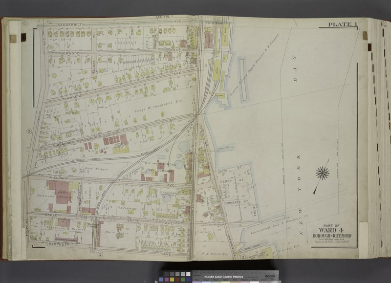 File:Part of Ward 4. (Map bound by Vanderbilt Ave, Pierhead Line, North St, Front St, Maple Ave, Edgewater St (Bay St), Bay St (New York Ave), Chestnut Ave, Tompkins Ave (Centre St)) NYPL1646268.tiff