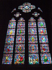 Notre Dame Paris Jesse window