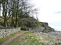 Path from the cove, Silverdale - geograph.org.uk - 736219.jpg