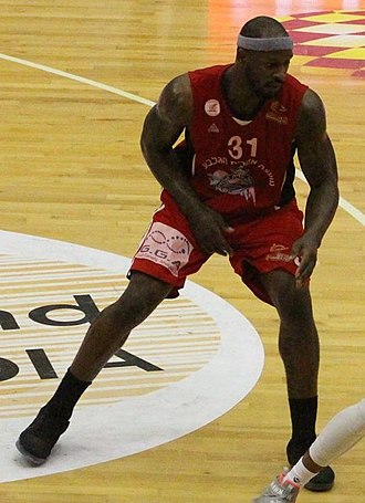 Murphy Holloway - Holloway playing for Hapoel Gilboa Galil, 2017