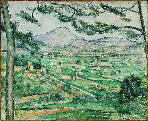 Paul Cézanne - Mont Sainte-Victoire