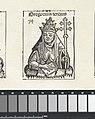 Paus Gregorius III Gregorius tercius (titel op object) Liber Chronicarum (serietitel), RP-P-2016-49-62-10.jpg