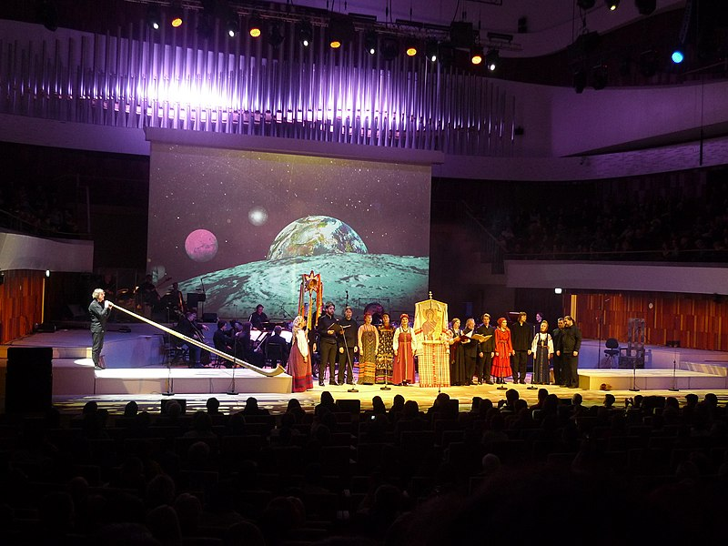 Pavel Karmanov 's Vertep in Zaryadye Concert Hall (2019-01-11) 24.jpg