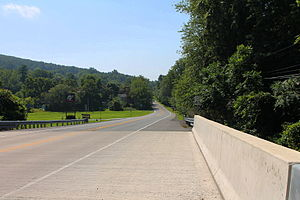 West Chillisquaque Township, Northumberland County, Pennsylvania - Pennsylvania Route 405 in West Chillisquaque Township