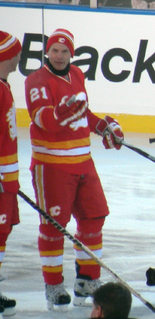 Perry Berezan Canadian ice hockey player