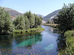 The Pescara river