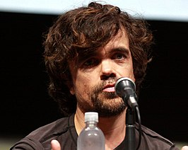 Peter Dinklage in 2013 tijdens Comic Con San Diego.