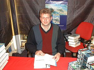 Summary Peter F. Hamilton signing his Night's ...