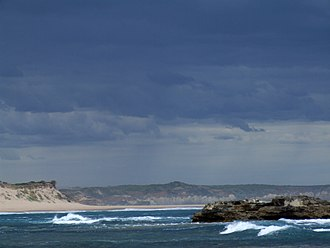 Peterborough, Victoria - Image: Peterborough coast gamenerd
