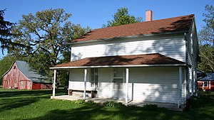 Brugjeld–Peterson Family Farmstead District - The 1870 Petersen house