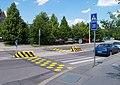 Petržílkova, přechod u ulice Na zlatě.jpg