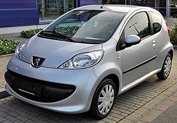 Peugeot 107 20090809 front