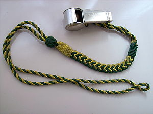 Lanyard - Whistle with lanyard