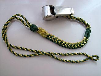 Lanyard - Whistle with lanyard