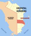 Ph locator oriental mindoro bongabong.png