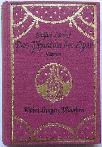 Christine Daaé - Das Phantom der Oper, Dt. EA 1912, Albert Langen, München