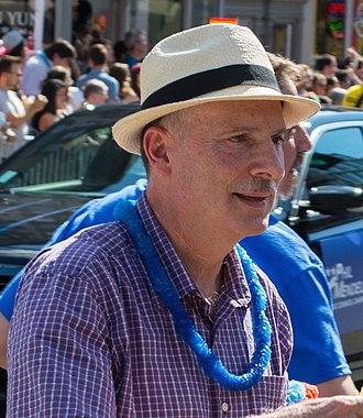 Phil Mendelson - Mendelson at the 2014 DC Pride Parade