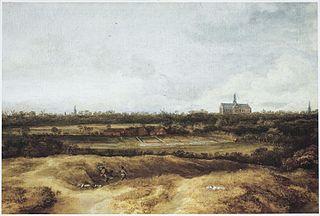 Bleaching fields near Haarlem