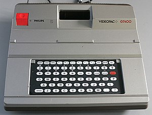 Philips Videopac + G7400 - Image: Philips Videopac G7400