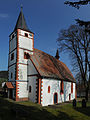 "Photo of the ""Evangelische Pfarrkirche (Güttersbach)"" again from the south-west. Is this not enough?.JPG"